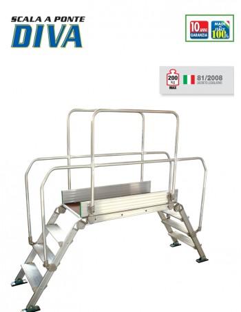 DIVA scala a ponte in alluminio