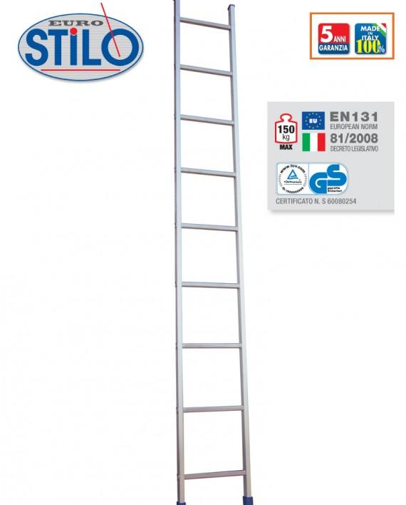 STILO/S scala semplice d'appoggio a pioli quadri