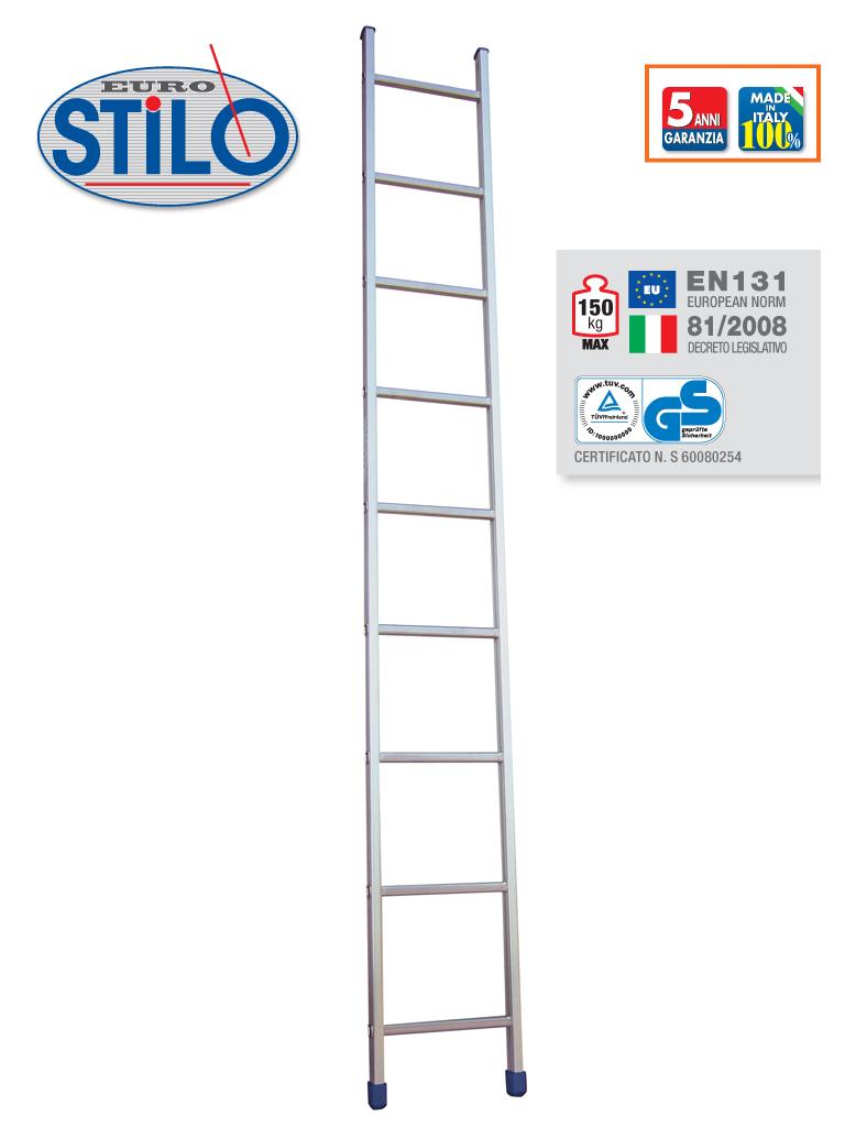 Scala Facal Stilo Semplice  8 Gradini Metri 2,46